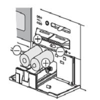 ガスコンロ 電池交換 単一電池2個