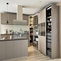 LIXIL,キッチン,キッチンクローゼット,収納,家電,見えない収納,DIY,