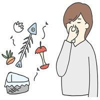 生ゴミ,夏,生ごみ臭,におい,臭い対策,食パン,新聞紙,重曹,酢,ポリプロピレン,ポリ袋