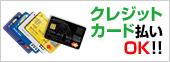 クレジットカード払いOK