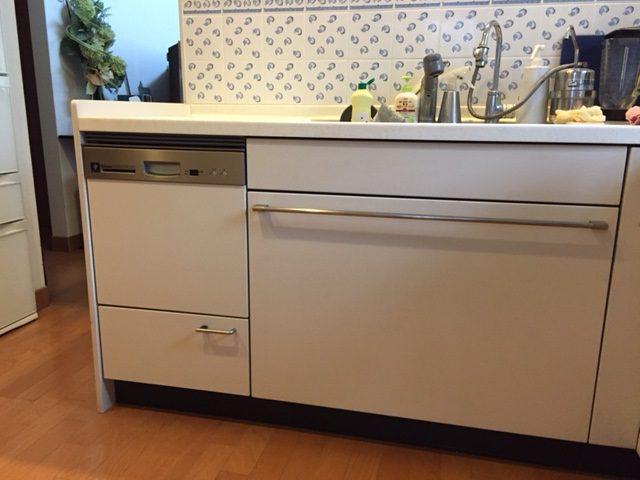 リンナイ 食洗機取替えリフォームアフター