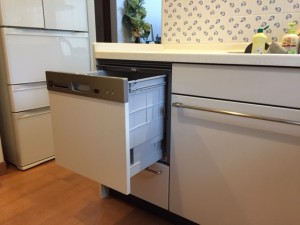 リンナイ 食洗機取替えリフォームアフター2