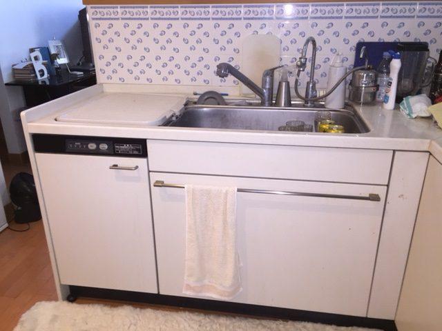 リンナイ 食洗機取替えリフォーム