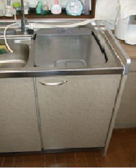 食洗機 取替え サンウェーブ