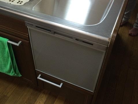 ナスステンレス NP-45MS6S 食器洗い乾燥機③