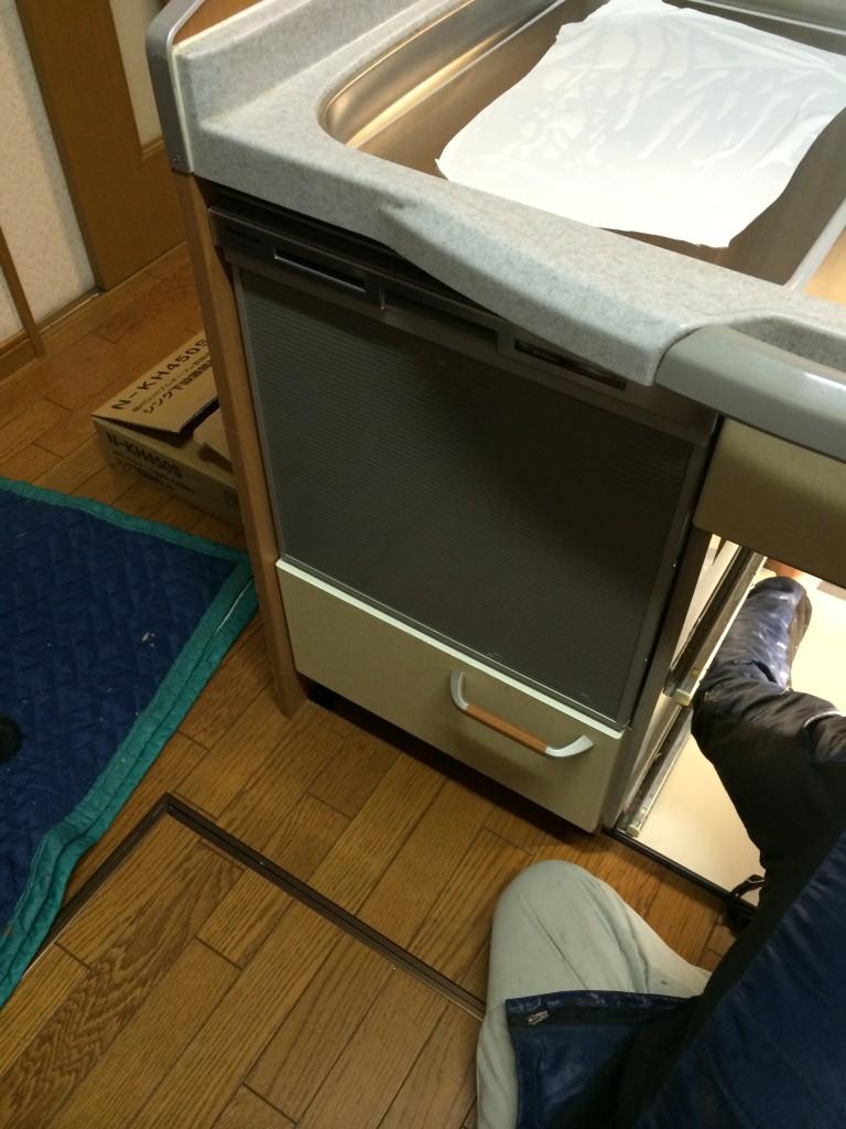 パナソニック NP-45MS6S 食器洗い乾燥機②