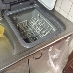 レジオン南森町マンション 三菱電機 トップオープン食洗機①