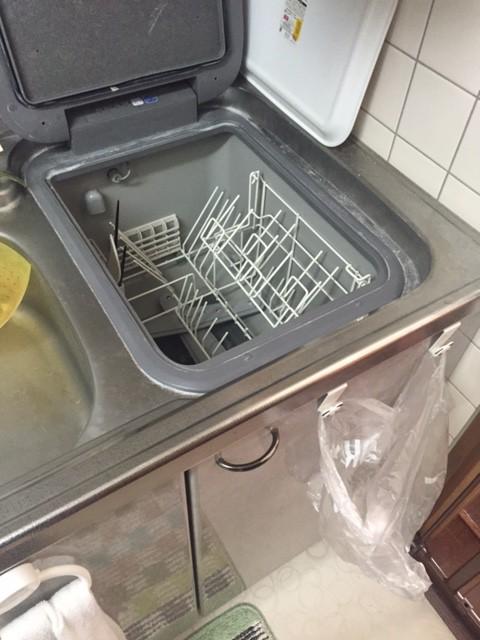 レジオン南森町 三菱電機 トップオープン食洗機①