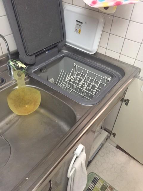 レジオン南森町 三菱電機 トップオープン食洗機②