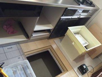 LIXIL キッチン 食洗機②