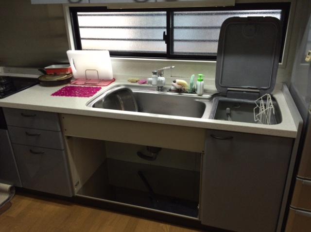 サンウェーブ キッチン 食洗機①