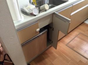 パナソニック キッチン 食洗機後付①