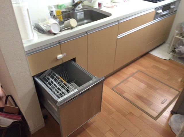 パナソニック キッチン 食洗機④