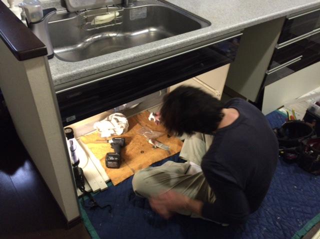 タカラ キッチン 食洗機⑨