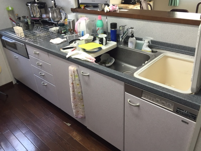 へーベルハウス ヤマハ トップオープン食洗機②