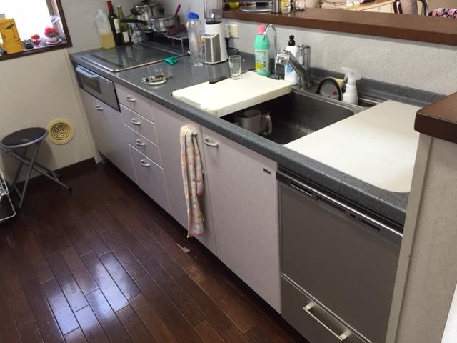 へーベルハウス ヤマハ トップオープン食洗機④