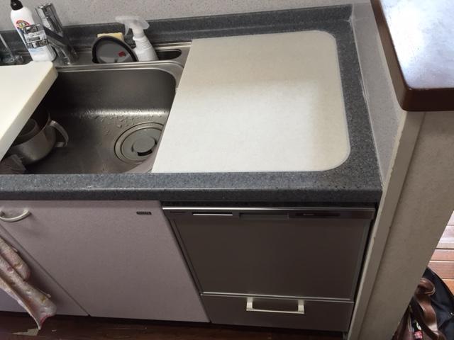 へーベルハウス ヤマハ トップオープン食洗機③
