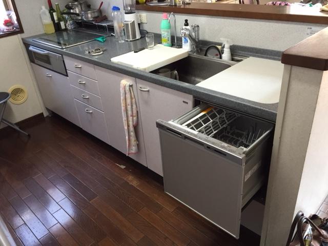 へーベルハウス ヤマハ トップオープン食洗機⑤
