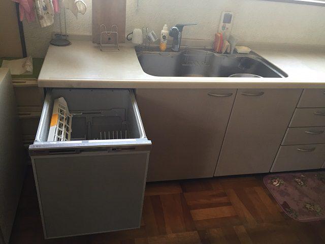 NP45MC6T パナソニック食洗機 取替え④