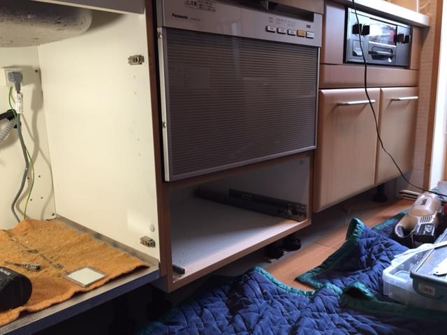 FB6010D ハーマン食洗機 取替え⑥