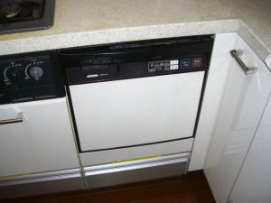 ビルトイン食器洗い乾燥機 スライドタイプ 取替え