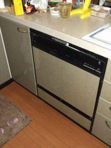 60cm 食器洗浄機 リフォーム工事