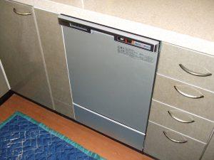 60cmスライド食洗機 45cm幅食器洗い乾燥機へ リフォーム