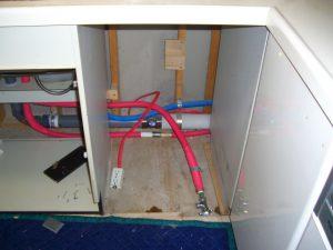 30センチ幅 パナソニックビルトイン食器洗い乾燥機 キャビネット加工 交換 NP-45MD7S