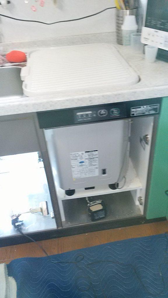 パナソニック食洗機 交換 NP-45MS7S②