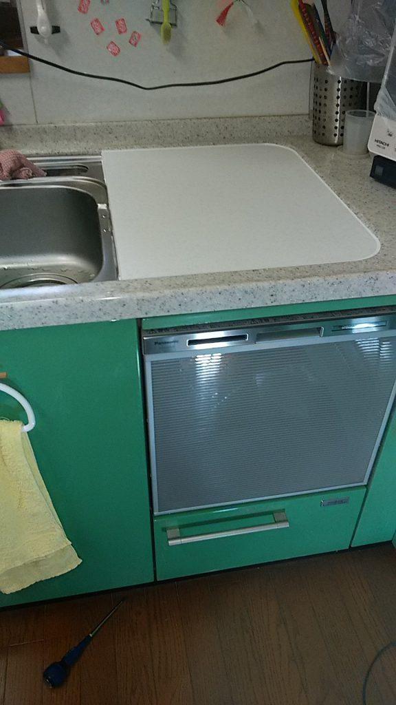 パナソニック食洗機 交換 NP-45MS7S④