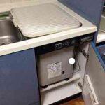パナソニック食洗機 トップオープン食洗機交換 NP-45MS7S①