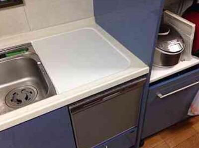 パナソニック食洗機 トップオープン食洗機交換 NP-45MS7S②
