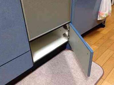 パナソニック食洗機 トップオープン食洗機交換 NP-45MS7S③