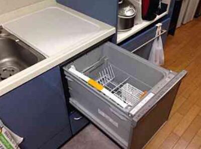 パナソニック食洗機 トップオープン食洗機交換 NP-45MS7S⑤