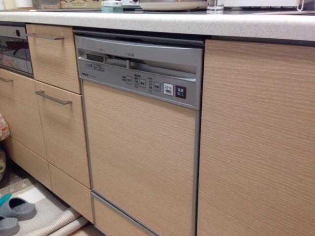 パナソニック食洗機 スライドオープン食洗機交換 NP-45KE7WJG①