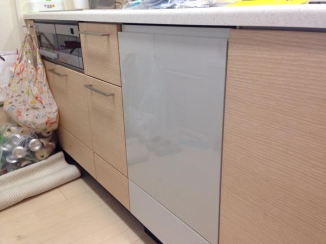 パナソニック食洗機 スライドオープン食洗機交換 NP-45KE7WJG②