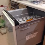 パナソニック食洗機Kシリーズ スライドオープン食洗機交換 NP-45KE7WJG③
