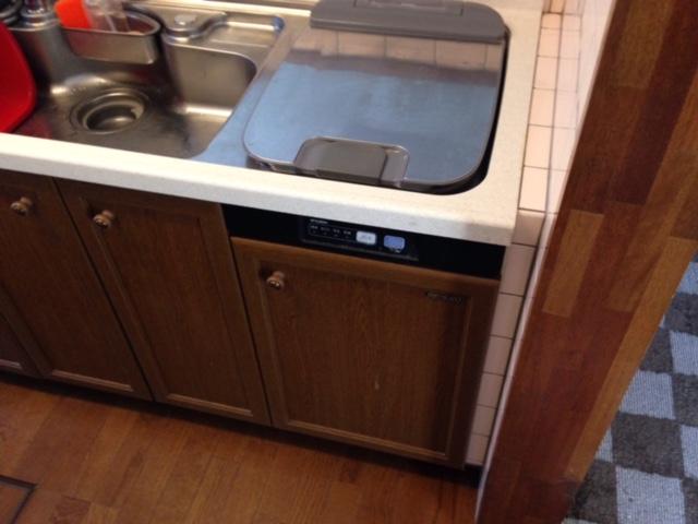 パナソニック食洗機 トップオープン食洗機交換 NP-45RS7KJGK①