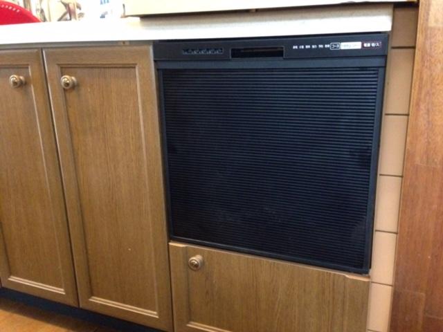 パナソニック食洗機 トップオープン食洗機交換 NP-45RS7KJGK②
