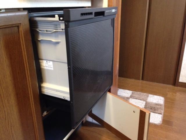 パナソニック食洗機 トップオープン食洗機交換 NP-45RS7KJGK③