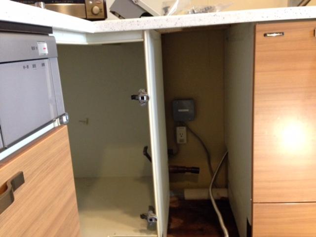 パナソニック食洗機 スライドオープン食洗機交換 NP-45MD7S②