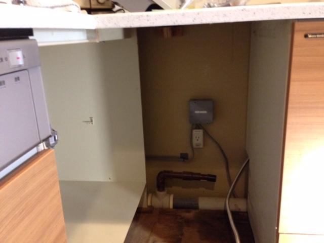 パナソニック食洗機 スライドオープン食洗機交換 NP-45MD7S④