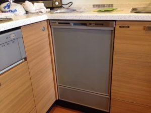 パナソニック食洗機 スライドオープン食洗機交換 NP-45MD7S⑤