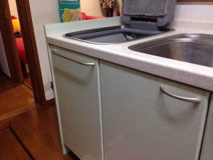 パナソニック食洗機 トップオープン食洗機取替え NP-45MS7S③