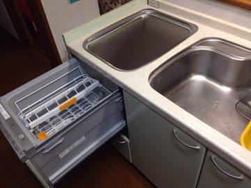 パナソニック食洗機 トップオープン食洗機取替え NP-45MS7S⑤
