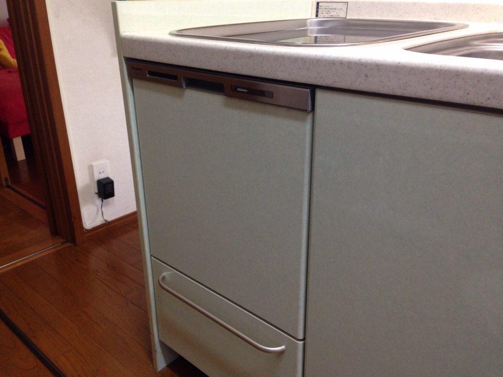 パナソニック食洗機 トップオープン食洗機取替え NP-45MS7S⑥