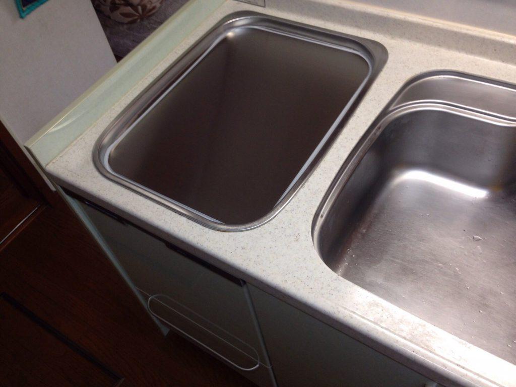 パナソニック食洗機 トップオープン食洗機取替え NP-45MS7S⑧