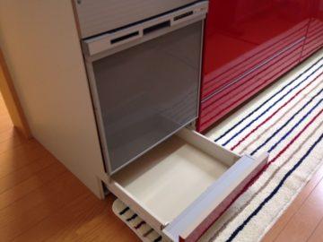パナソニック食洗機 スライドオープン食洗機取付け NP-45RS7S②