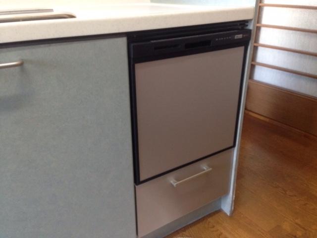 三菱電機食洗機 トップオープン食洗機取替え EW-CB51-YH③