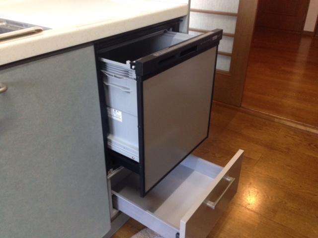 三菱電機食洗機 トップオープン食洗機取替え EW-CB51-YH⑤